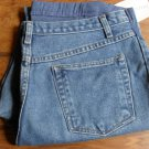Induetime Denim Knit Front Panel Maternity Jeans Size 14