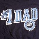Vintage Mens T-shirt #1 Dad Design L