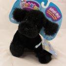 Ganz Lil' Webkinz Black Poodle Dog Plush Toy HS191