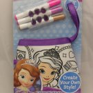Disney Sofia the First Color n' Style Bag Activity Set