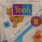 Disney Winnie the Pooh Hooded Terry Bath Towel & Washcloth Set