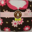 Carter's Child of Mine Blanket Sleeper - Flowers - 3 toddler