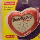 Fisher Price Doodle Pro Heart Drawing and Erase Board Toy - Red