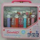 Sanrio Hello Kitty & My Melody PEZ Dispensers Tin Set