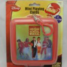 Disney High School Musical Mini Playing Cards Travel Pack