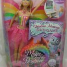Barbie FairyTopia Magic of the Rainbow Adventure Elina & DVD Game