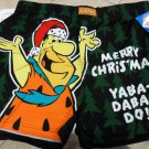 The Flintstones Fred Christmas Mens S Boxer Shorts