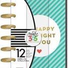 me & my BIG ideas Create 365 The 2017 Mini Happy Planner, Be Bright