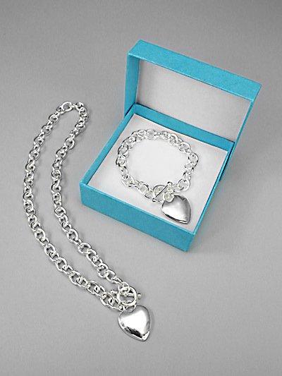 Designer Inspired Bracelet & Necklace Set - BBbn