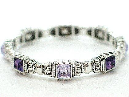 Purple Amethyst Bracelet - BBpa