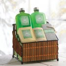 Spa Lime & Mint Set In Basket - MM36385