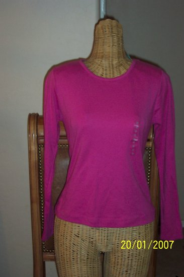Delicates Hot Pink Shirt - New With Tags - BBlm