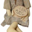 Emma Doll With Sampler - GEKP10037
