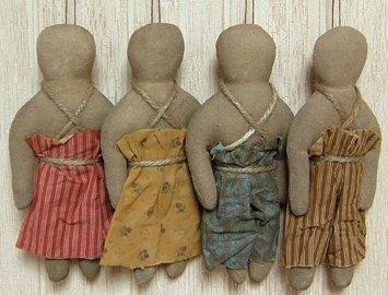 Mini Prairie Dolls - 4/Set - GEKP10042