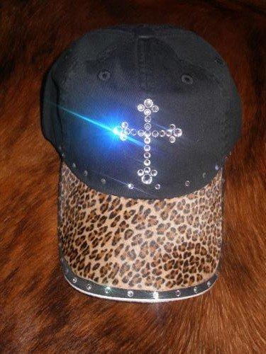 Baseball Cap - Leopard/Cross - JGlc