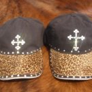 Baseball Cap - Leopard/Cross - JGlc3