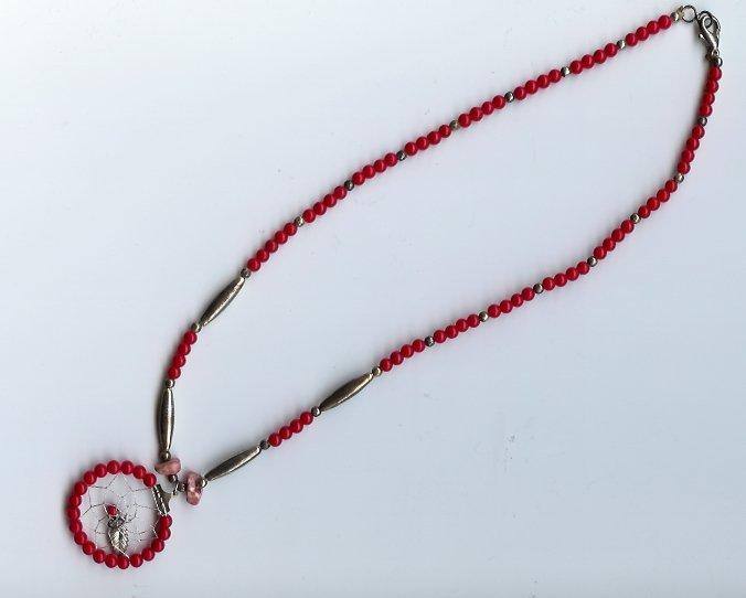Navajo Dreamcatcher Necklace - EAndc