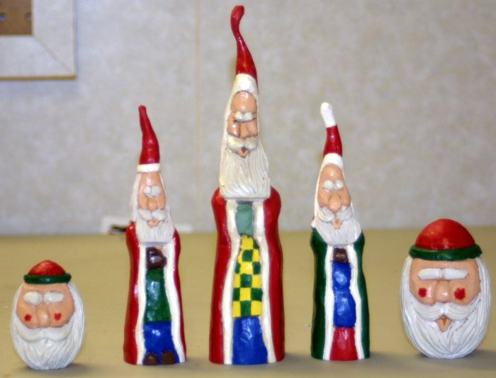"Christmas in July - 8.5"" Santa - OC8.5s"