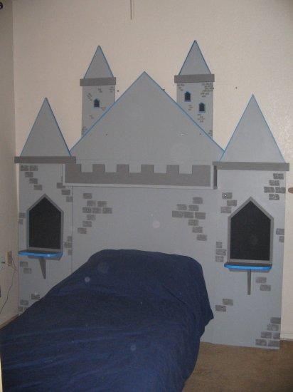 Princess Castle Headboard - JGch