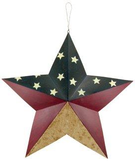 "Dimensional Barn Star - Americana - 24"" - CWGJHE1574A"