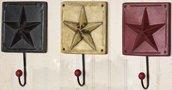 Country Star Hooks - 3/Set - CWG108415