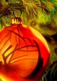 "Christmas Sphere ~ 10""x13"" - NW90076"
