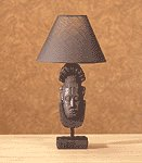 AFRICAN MASK LAMP - MM35358