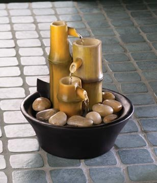 Zen Bamboo Tabletop Fountain - MM35658