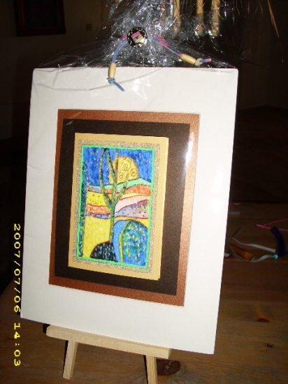 Cactus 9 x 11 Greeting Card - IAca911