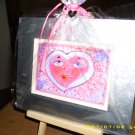 Heart Face 9 x 11 Greeting Card - IAhf911