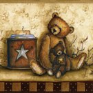 Baskets, Bears, & Jars Wall Border - CWIG86176
