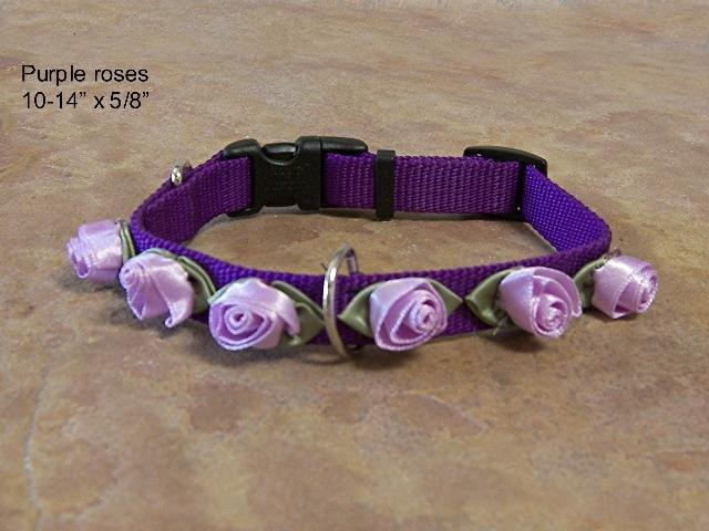 Purple Rose Collar - BTprc