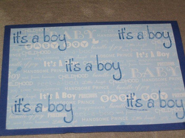 Its A Boy Greeting Card - CTbo