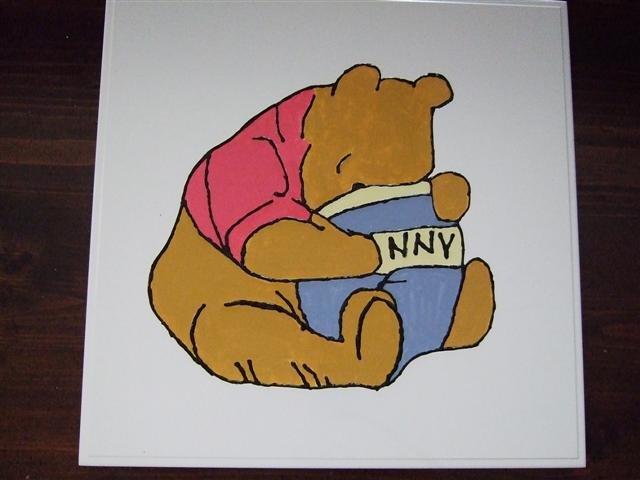 Winnie the Pooh Hunny Pot Nursery/ Wall Art  - 4Uwp
