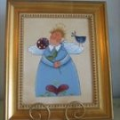Handpainted Angel on Canvas - PJba