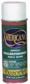 Americana Gloss Spray Sealer/Finisher - CWADAS12