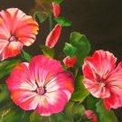 Petite Pink Flowers Print - NWpfp