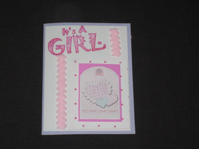 It's a Girl Greeting Card - CTgg