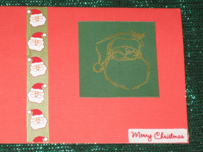 Santa Greeting Card - CTsa