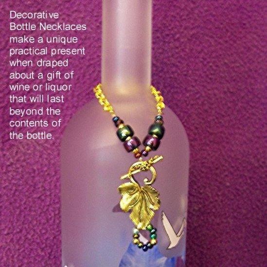 Decorative Bottle Necklace - BTbn