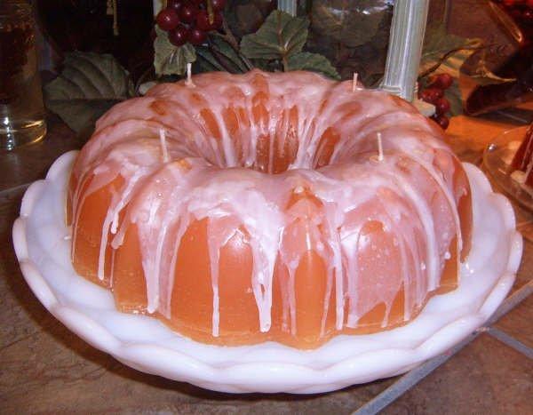 Bundt Cake Candle - JSbc