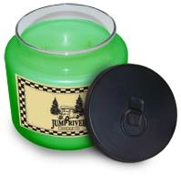 Green Apple Soy Candle 16 oz. - FHgas6