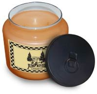 Leather Soy Candle 16 oz. - FHles6