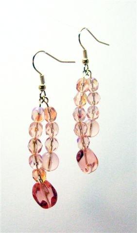 Pink As Punch Earrings - UEpp