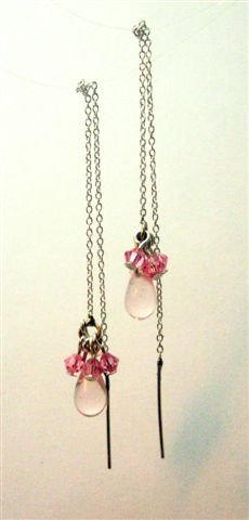 Pink Passion Earrings - UEpp