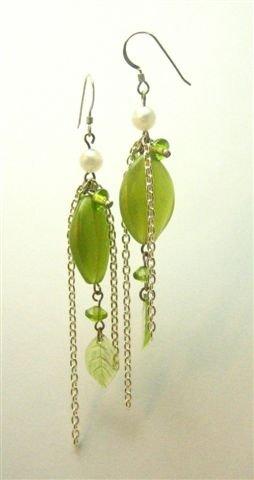 Fairy Green Earrings - UEfg