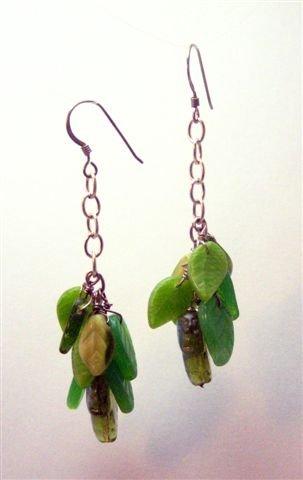 Falling Leaves Earrings - UEfl