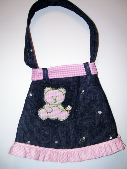 Pink Teddy Bear Purse - PPtb