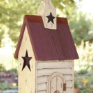 Burgundy Roof Birdhouse - GJHE5691A