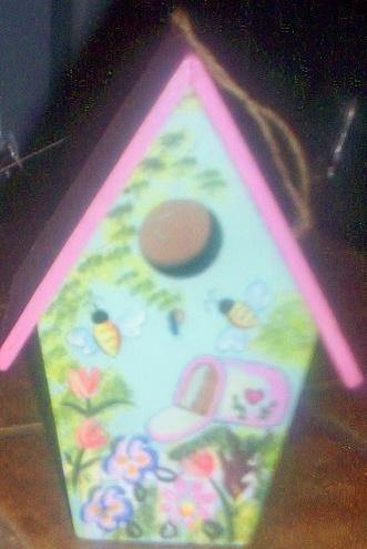 Mother's Day Birdhouse - DDbh